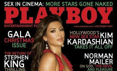 The Kim Kardashian Playboy Cover