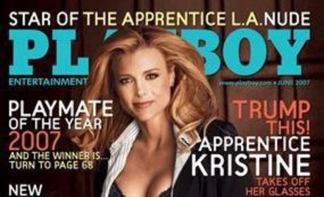 Kristine Lefebvre Playboy Cover