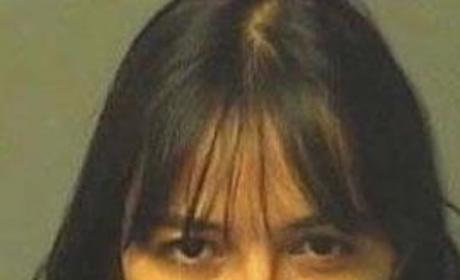 Michelle Rodriguez Mug Shot
