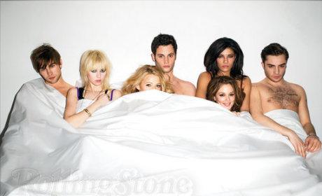 Naked Gossip Girl Cast!