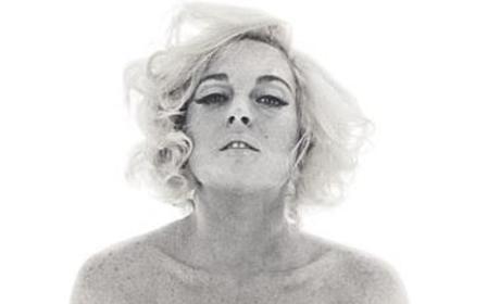 Lindsay Lohan Nude, Emulating Marilyn Monroe