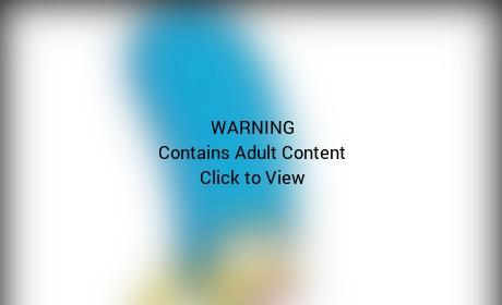 Marge Simpson Bikini Pic