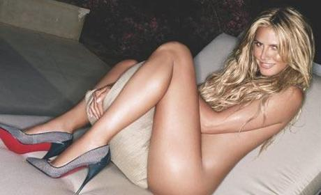 Heidi Klum Nude Photos Heat Up Arena Magazine