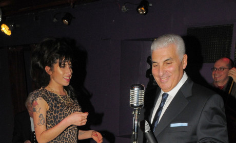 Mitch Winehouse and Amy Winehouse