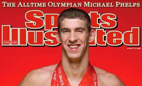 Michael Phelps: Real or Wax?