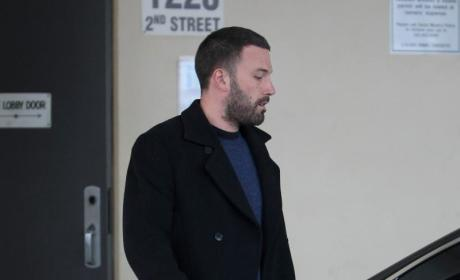 Ben Affleck Gives Barack Obama Manly Hug