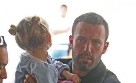 Ben Affleck and daughter, Violet
