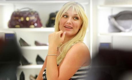Got Ya! Brooke Hogan Shops at Payless