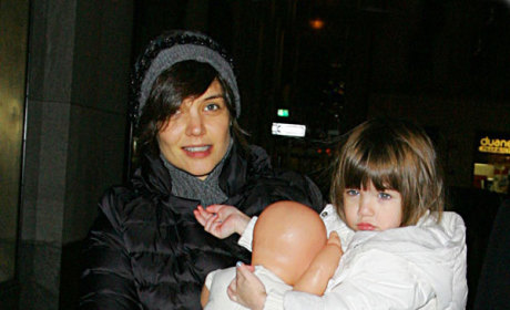 Suri Cruise with Dolly