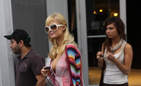 Brittny Gastineau and Paris Hilton Pretend to Be Lesbians