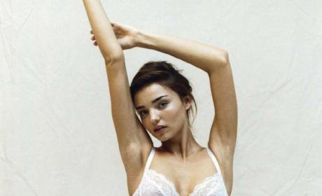 Miranda Kerr in Lace Panties