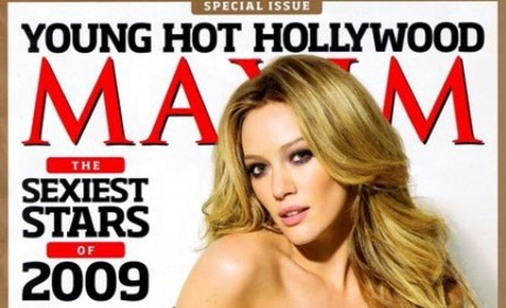 Hilary Duff Maxim Cover