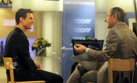 Tom Cruise, Matt Lauer