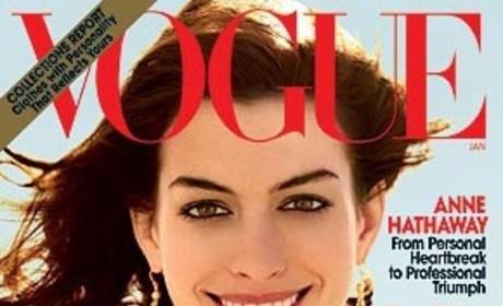 Anne Hathaway Heats Up Vogue