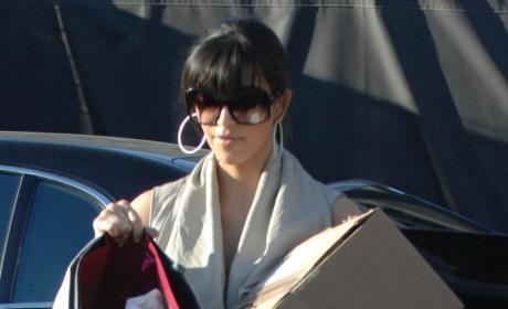 Kim Kardashian Goes Retro