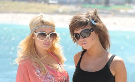 Brittany Flickinger and Paris Hilton Go Down Under
