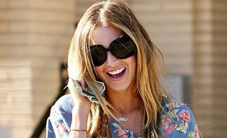 Whitney Port Back Home in Beverly Hills