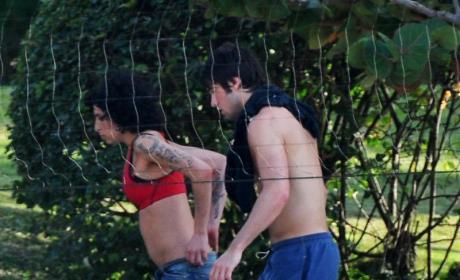 Amy Winehouse & Josh Bowman: A St. Lucia Love-Fest