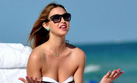 Whitney Port Heats Up Miami