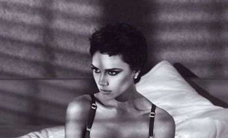 Victoria Beckham Underwear Photo