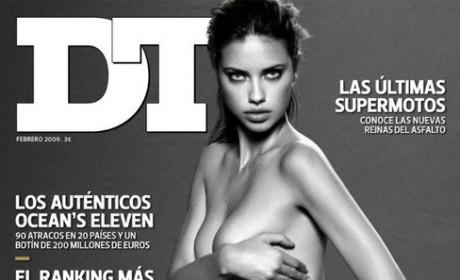Adriana Lima Topless Photo