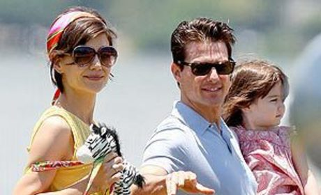 Tom, Katie and Suri Do South America