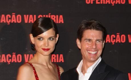 Kate Holmes, Tom Cruise