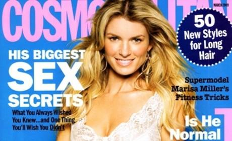 Marisa Miller: Cosmopolitan Cover