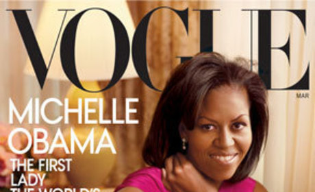 Michelle Obama Fashion Watch: First White House Portrait
