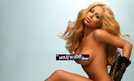 Aubrey O'Day: Nude in Playboy!