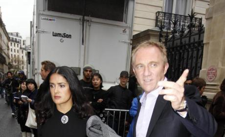 Salma Hayek to Marry Francois-Henri Pinault ... Again!
