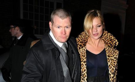 Kate Moss: Not Pregnant, Just Eating Occasionally
