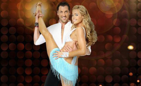 Maksim Chmerkovskiy and Denise Richards