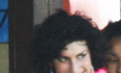 A Happy Amy Winehouse