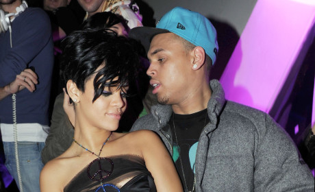 Chris Brown Ogles Rihanna