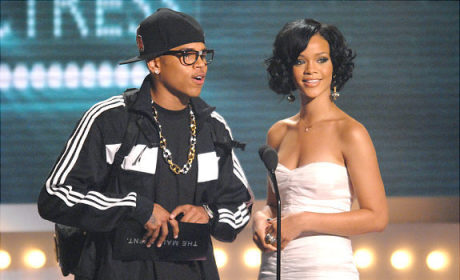 Old School Rihanna and Chris Brown
