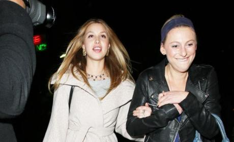 Whitney Port and a Friend