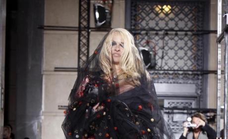 The Pamela Anderson Wedding Photo