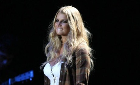 Jessica Simpson is Wasted