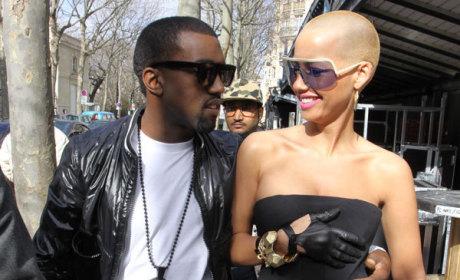 Kanye and Amber
