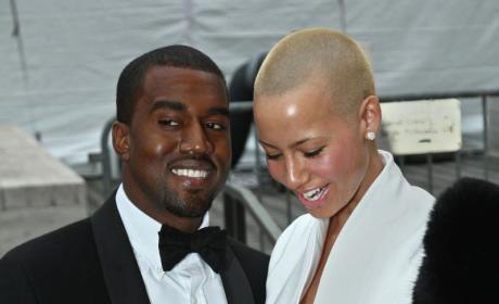 Amber Rose and Kanye