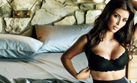 Kim Kardashian Kleavage