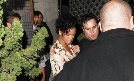 Rihanna at Les Deux