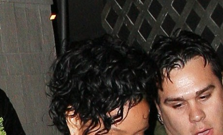 Chris Brown and Rihanna: The Sexy PDA