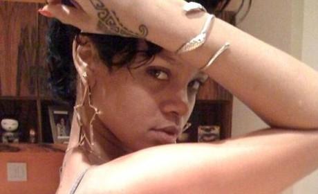 Rihanna's New Gun Tattoo: Sexy or Sending Bad Message?