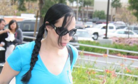 Nadya Suleman Shopping