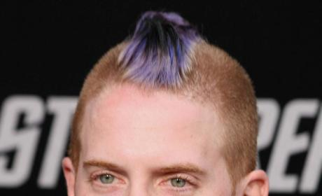 Purple Mohawked