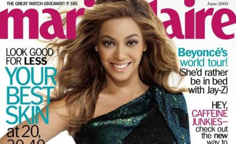 Beyonce: Marie Claire Cover Girl