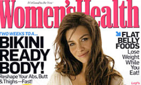 Evangeline Lilly Featured in Women's Health