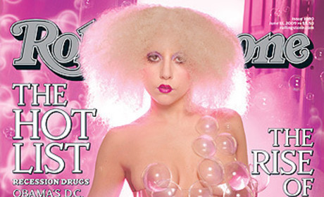 Lady Gaga: Nude in Rolling Stone